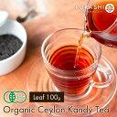 有機JAS 紅茶 茶葉 キャンディ100g 送料無料 オーガ