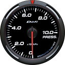 Defi デフィ Racer Gauge 圧力計 60Φ (油圧計、燃圧計) ...