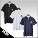 ディーゼル DIESEL Tシャツ 3枚セット Vネック ブレイブマンロゴ SHGU-0TANL UMTEE-MICHAEL-02 【2019SS新作】