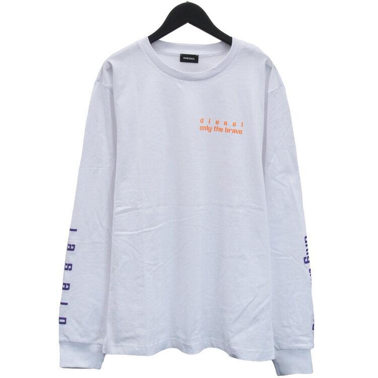 トップス, Tシャツ・カットソー  DIESEL T A01036-0PATIT-JUST-LS-N64-10 0