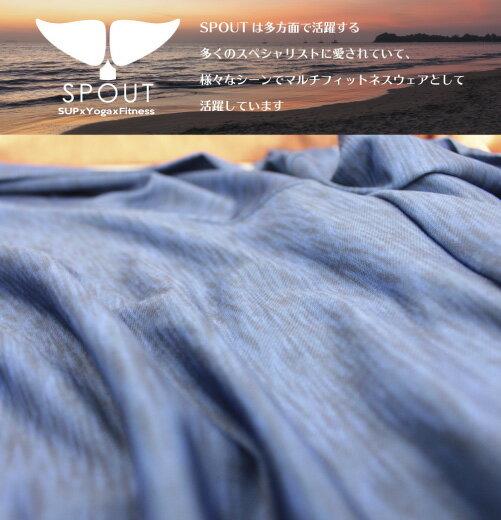 【水陸両用】【SPOUT】レディースSUPストレッチキャミソール[72009]ラッシュガードサップヨガヨガウェアヨギーニヨガジャーナルHONEYフィットネスfitnessフィットネスウェア