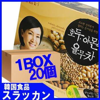 【ダムト−くるみ、松の実などミクス茶18gX15包 20個 1BOX】