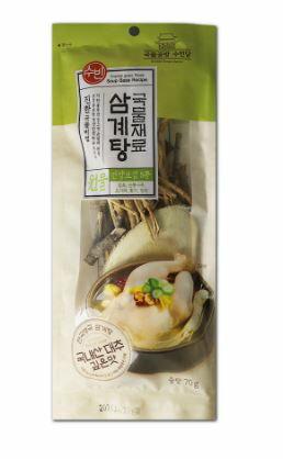 参鶏湯漢方材料70g
