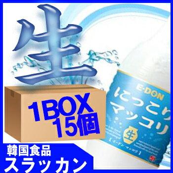 冷蔵食品★イドン生マッコリ−1L(PET) 15個 1BOX★E-DONG/E-dong/韓国食品/キムチ/チヂ...
