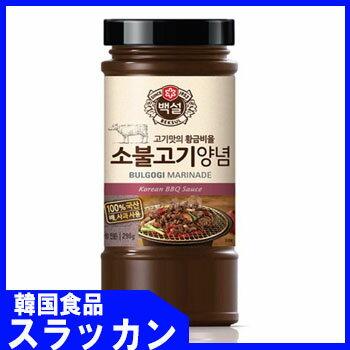 白雪牛ブルゴギタレ290g/韓国食品■韓国料理/韓国食材/調味料/韓国ソース/焼肉用ソース/たれ