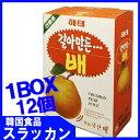 【おろし梨ジュース1BOX(238mlX12本)】★韓国食品...