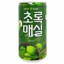 【ウンジン】梅ジュース(缶)180ml 5個