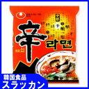 スラッカンで買える「【日本で一番人気!】辛ラーメン120g」の画像です。価格は97円になります。