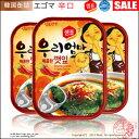 【韓国食品|レトルト】えごまの葉キムチ缶詰(辛口)