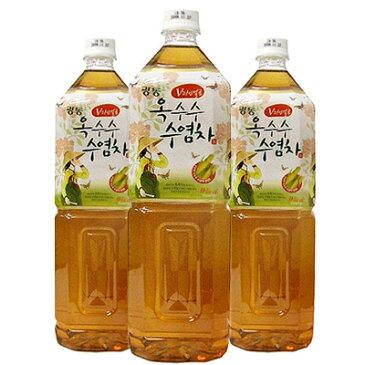 【韓国お茶】 光東製薬 とうもろこしひげ茶 1.5L