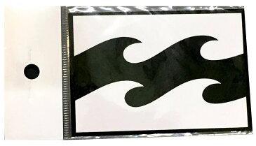 【メール便¥180可能】【BILLABONG/ビラボン】ステッカー【縦約6.5cm×横約 9.5cm】ブラック