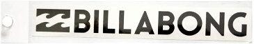 【メール便¥180可能】【BILLABONG/ビラボン】【型抜きステッカー】【縦約1.5cm×横約 12cm】ブラック