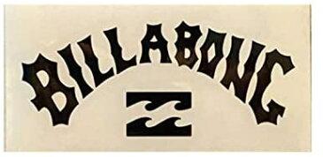 【メール便¥180可能】【BILLABONG/ビラボン】【型抜きステッカー】【縦約3.5cm×横約 8cm】ブラック