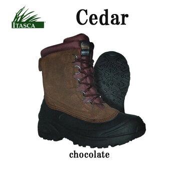 【送料無料!即納】アウトドア メンズブーツ ITASCA Cedar Boots【あす楽対応_関東】