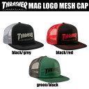 【送料無料!即納】Thrasher Mag Logo Mesh Capスラッシャー マグロゴ メッシュキャップ アメリカ製 本物【あす対応_関東】