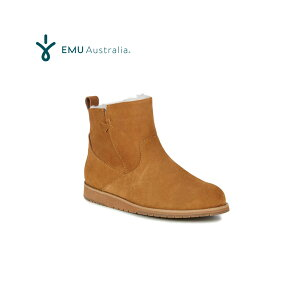 エミュー ムートンブーツ ビーチミニ チェスナット 23cm EMUオリジナルBOX入り【送料無料!即納】EMU Australia Sheepskin Boots BEACH MINI Chestnut W'6【あす楽対応_関東】ポイント10倍