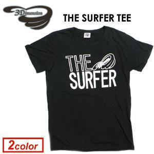 あす楽 3Dimension スリーディメンション Tシャツ,sale メール便対応可●THE SURFER TEE