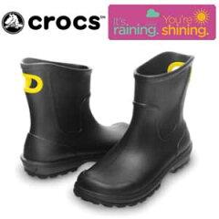 スタイリッシュなデザインで、雨の日でも快適なスタイリングを楽しめます。〔あす楽対応〕CROCS...