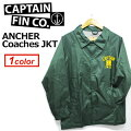 CAPTAINFIN,����ץƥ�ե���,���������㥱�å�,������ɥ֥졼������ANCHERCoachesJKT