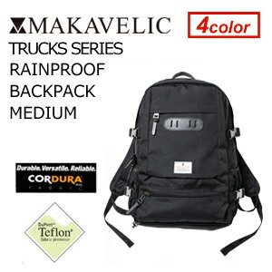 〔あす楽対応〕【送料無料】MAKAVELIC TRUCKS RAINPROOF BACKPAC…