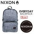 〔あす楽対応〕【送料無料】NIXON,ニクソン,バックパック,リュックサック●EVERYDAY BACKPACK