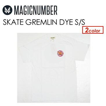 あす楽 Magic Number マジックナンバー グレムリン Jim Philips Tシャツ 半袖●SKATE GREMLIN DYE S/S TEE 17HS-1005