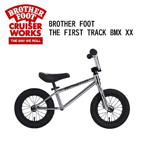 乗用玩具・三輪車, バランスバイク  BMX ,saleBROTHER FOOT THE FIRST TRACK BMX XX SILVER (CP)