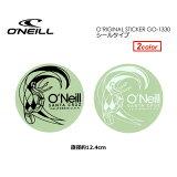 O'neill オニール ステッカー メール便対応可●O'neill O'RIGINAL Sticker シールタイプ 12cm GO-1330