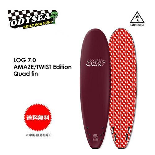 サーフィン・ボディボード, サーフボード  CATCHSURF ODYSEA Barry McGeeLOG AMAZETWIST Edition 7.0 Quad fin
