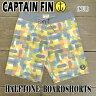 CAPTAIN FIN/キャプテンフィン HALFTONE BOARDSHORTS MULTI 男性用 サーフパンツ ボードショーツ 海パン 水着_02P01Oct16