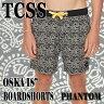 "TCSS/The Critical Slide Society OSKA 18"" TRUNK PHANTOM _サーフィン男性用水着_海パン/海水パンツ メンズ サーフパンツ ザクリティカルスライドソサイエティ"