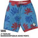 値下げしました!VANS/バンズ JT TRIMLINE BOARDSHORTS BLUE ASHES MONT 男性用 サーフパンツ ボードショーツ_02P01Oct16