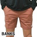 値下げしました!BANKS/バンクス PRIMARY BOARDSHORTS DARK ORANGE 男性用 サーフパンツ ボードショーツ サ...