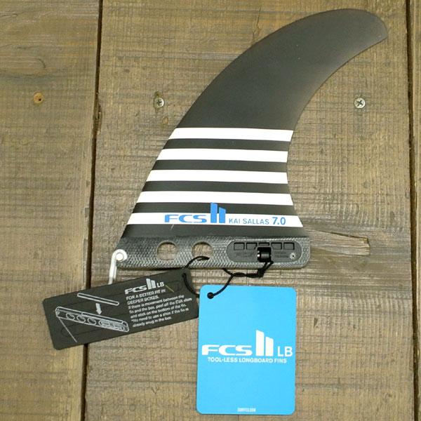 FCS2 FIN/エフシーエス2 ロングボード用フィン KAI SALLAS 7.0 PG Performance Glass/パフォーマンスグラス SMOKE カイサラス ボックスフィン/センターフィン/サーフボード用フィン_02P01Oct16