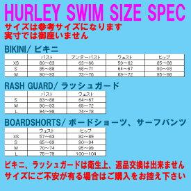 HURLEY/ハーレー新作レディースBIKINI/ビキニLINEDWARPBRA/BRIEFBLK女性用水着