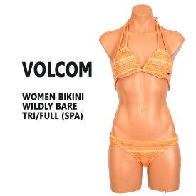 VOLCOM/ボルコム新作レディースBIKINIWILDLYBARETRI/FULLSPA女性用水着ビキニ