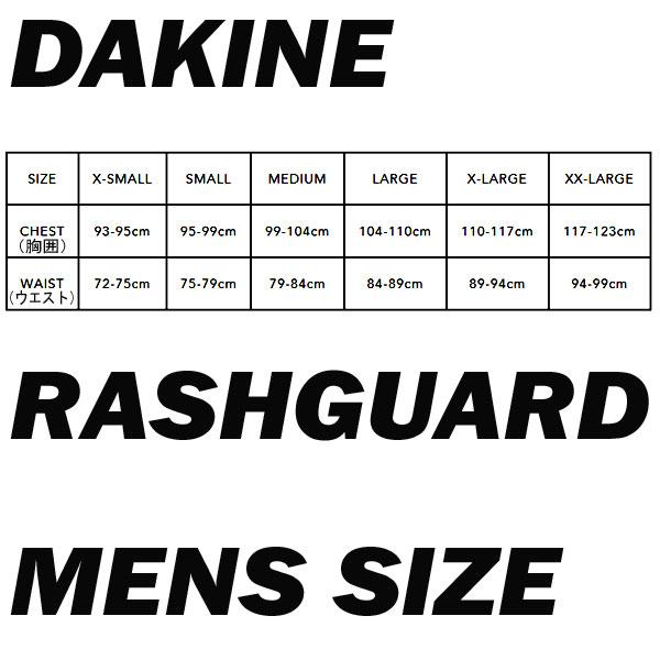 DAKNE/ダカインメンズ長袖ラッシュガードHEAVYDUTYSNUGFITL/SRASHGUARDBLACKUPF50+男性用水着UVカット