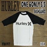 HURLEY/ハーレー半袖ラッシュガードONE&ONLYS/SRASHGUARD10Aサーフィン水着男性用
