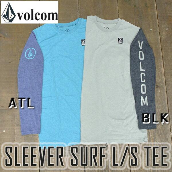 VOLCOM/ボルコムサーフTシャツSLEEVERL/STEE男性用水着ラッシュガード