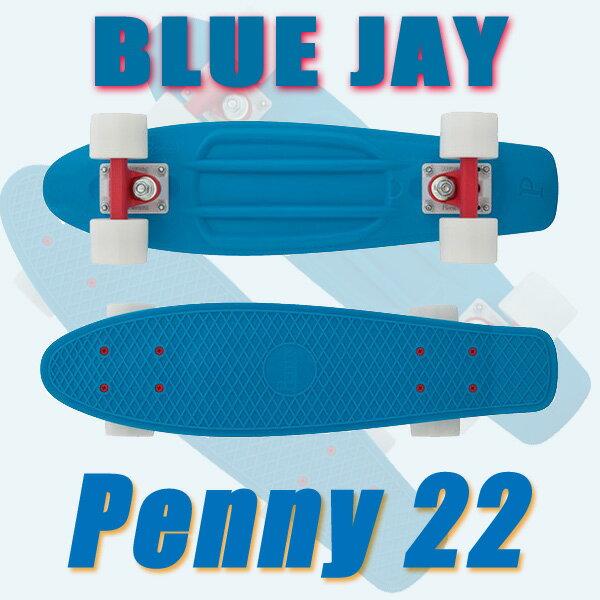 PENNY SKATEBOARDS/ペニースケートボード BLUE JAY CLASSICS COLLECTION PENNY/ペニー 22 ミニクルーザースケボー 送料無料 ミニ_ショートSK8