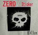 ZERO/ゼロ BLOWN INK STICKER/ステッカー シール スケボー