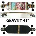 GRAVITY/グラビティー POP BARREL 41 ロングスケートボード/サーフスケート SK8 [返品、交換及びキャンセル...