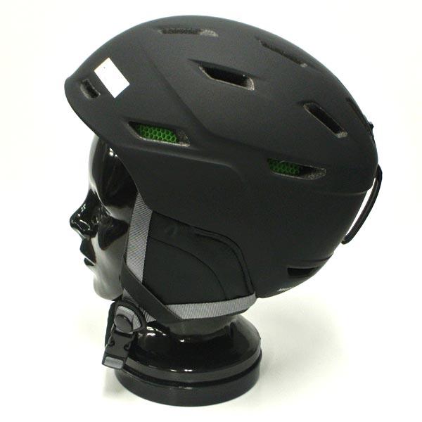 値下げしました!SMITH/スミスMISSIONSNOWHELMETSヘルメットMATTEBLACK/NOIRMATSNOWBOARDSスノボ用大人用雪山18-19モデル
