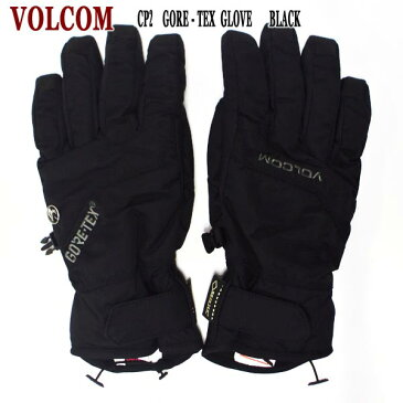 VOLCOM/ボルコム CP2 GORE-TEX GLOVE BLACK GORE-TEX/ゴアテックス 男性用メンズ スノーボードグローブ ミトン SNOW BOARD スノボ