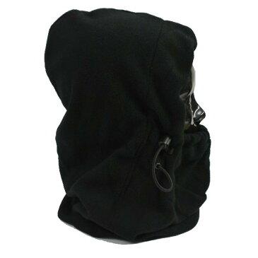 VOLCOM/ボルコム TRAVELIN HOOD THINGY BLACK フード付き ネックウォーマーメンズ スノーボード用 目だし帽 ニット帽 帽子 ビーニー VOLCOM SNOW [返品、交換及びキャンセル不可]