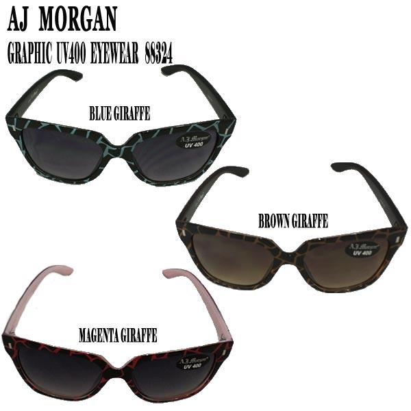値下げしました!AJ MORGAN/エイジェイモーガン GRAPHIC サングラス UV400 SUN GLASS EYEWEAR メガネ_02P01Oct16