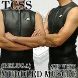メンズウェットベストTCSS/ザクリティカルスライドソサイエティMUDDLEDMUSCLEBELUGA送料無料男性用ウェットスーツ