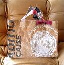 VIRON社の小麦粉袋を使った買物袋MAKOOリユースショッピングバッグ トート