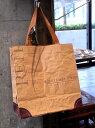 VIRON社の小麦粉袋を使った買物袋MAKOOリユースショッピングバッグ