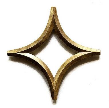 FUTAGAMI真鍮の生活用品鍋敷き 「星」